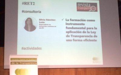 Publicación para la Revista Española de la Transparencia